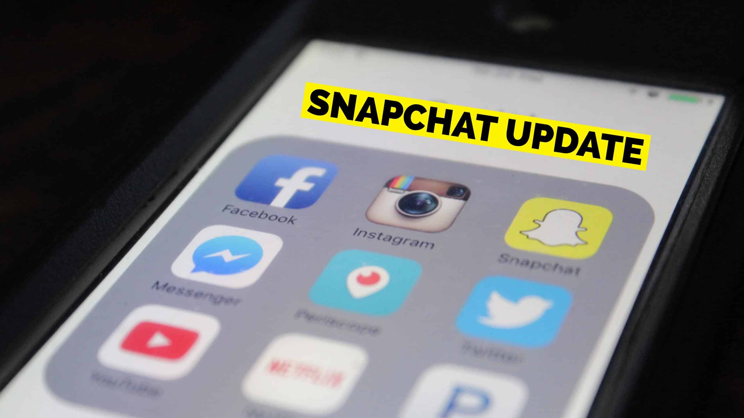 Snapchat Users Aren't Loving the New Update