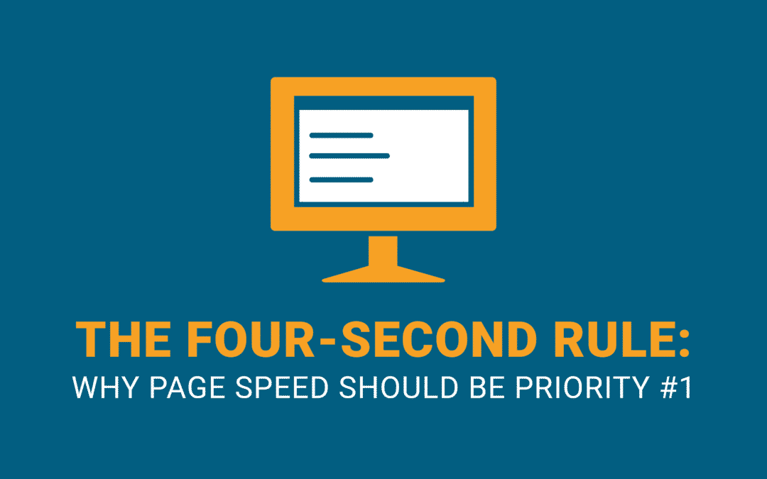 The Four-Second Rule: Page Speed, UX, & SEO