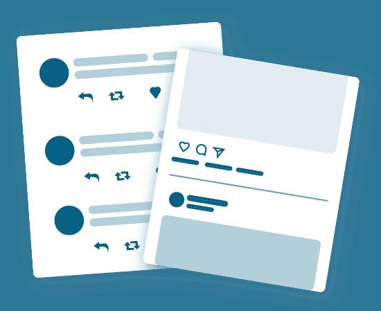social media audit illustration