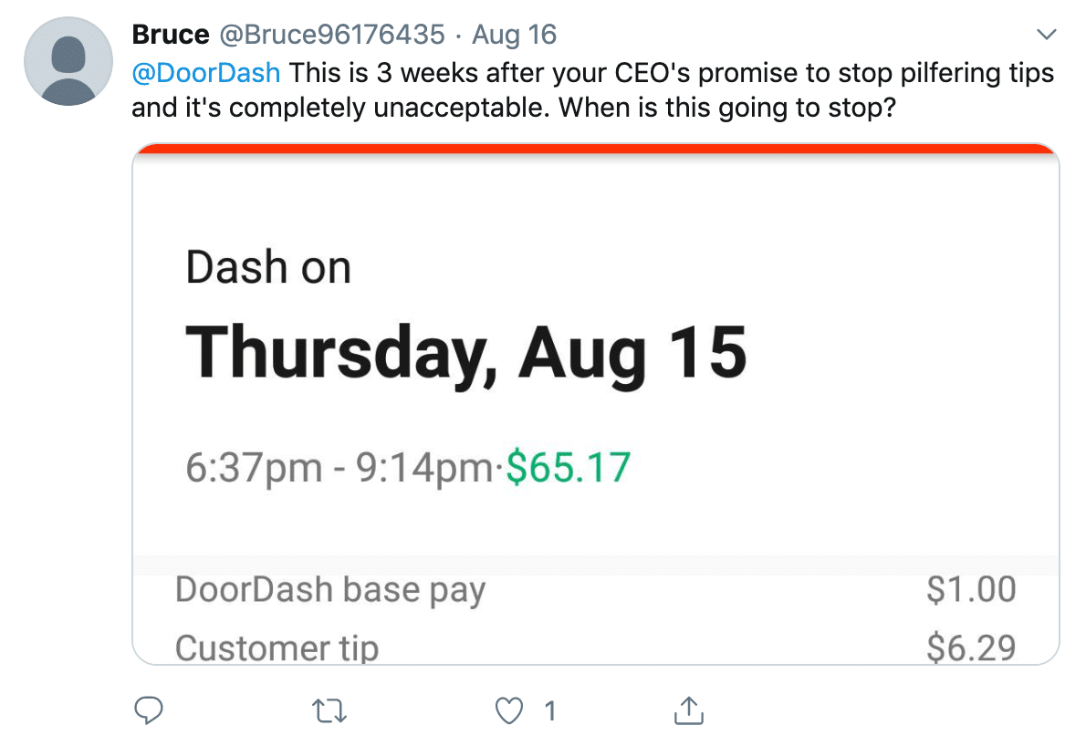 DoorDash Crisis Management