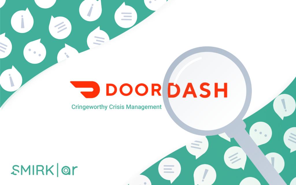 DoorDash Crisis Communication Blog