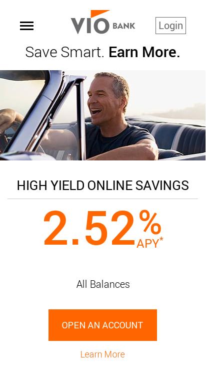 Vio Bank Mobile-Friendly Test August 2019