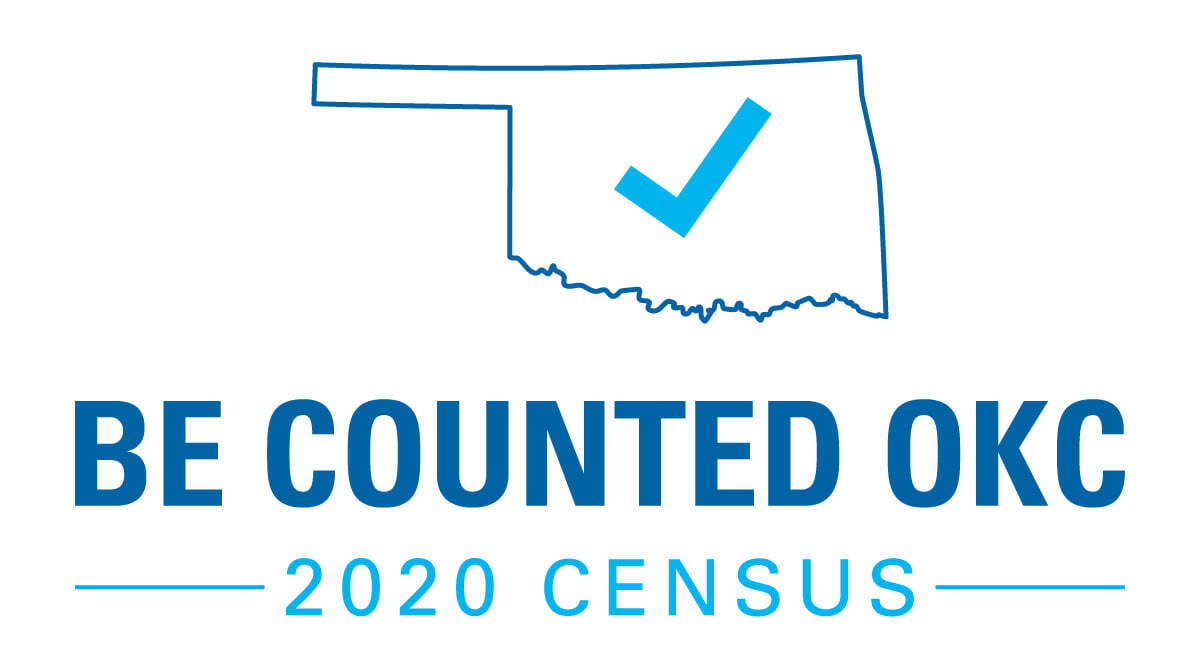 be counted okc 2020 census logo