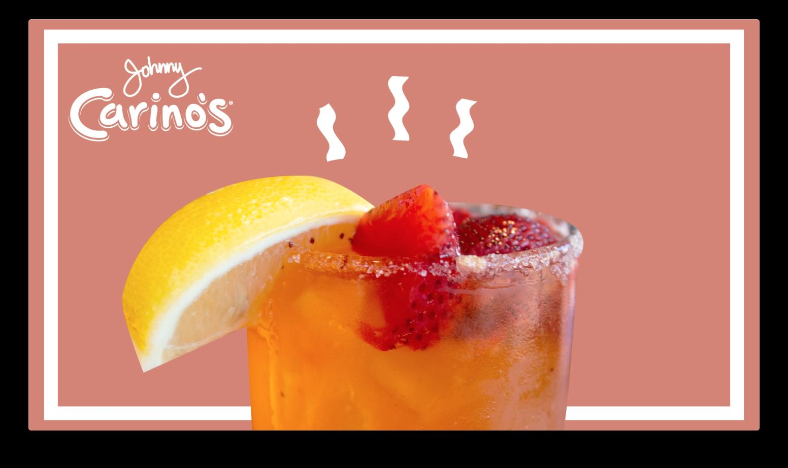 johnny carino's drink motion graphic screenshot