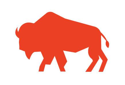 Black Prairie Bison Icon