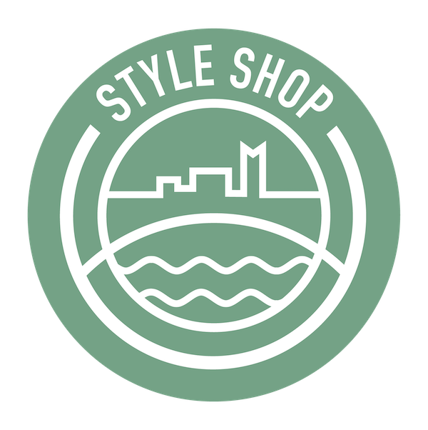 style shop badge