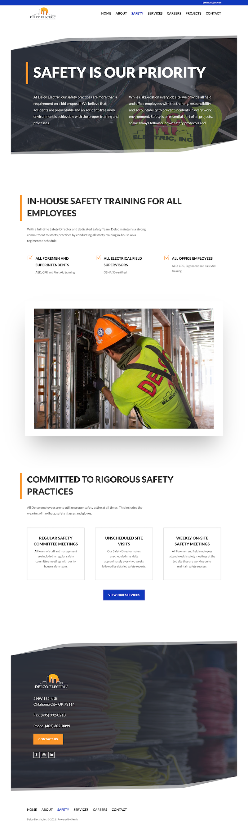 Delco Electric Safety Page