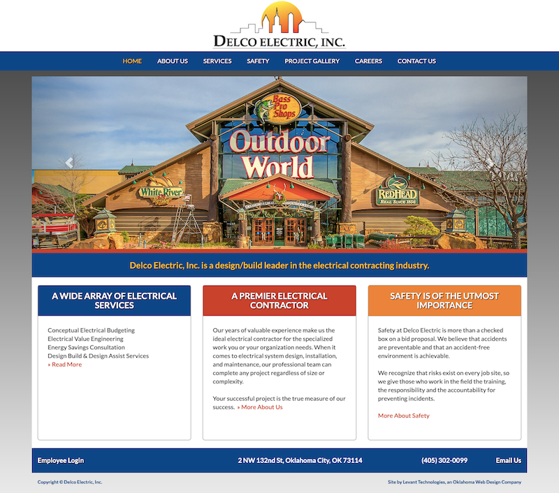 Old Delco Electric Homepage