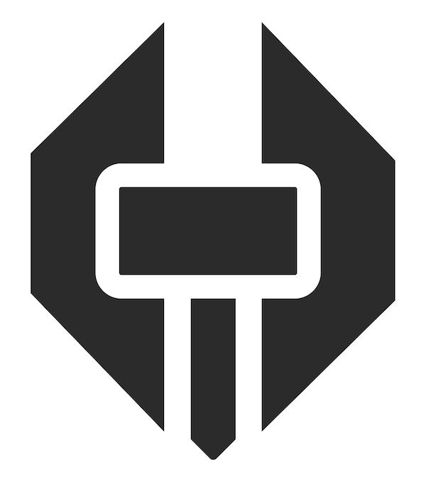 hammerstone black icon
