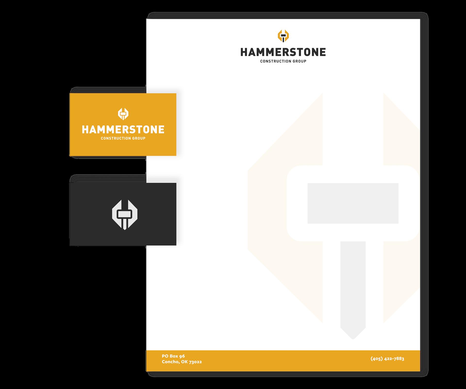 hammerstone branding materials