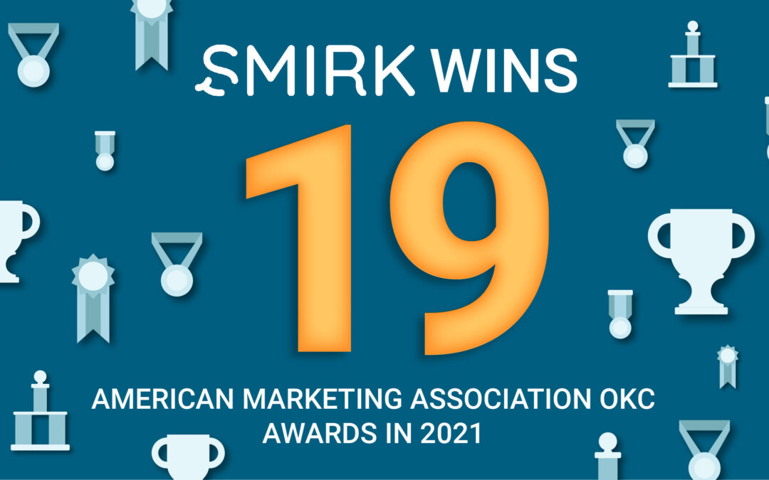 Smirk Continues Winning Streak at 2021 Marketing Excellence Awards