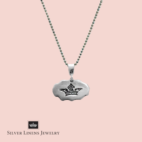 Silver Linens Jewelry Graphic